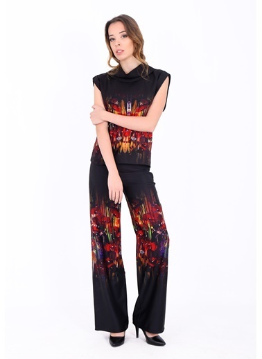 Soie Design Pantolon Kırmızı